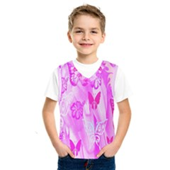 Butterfly Cut Out Pattern Colorful Colors Kids  Sportswear by Simbadda