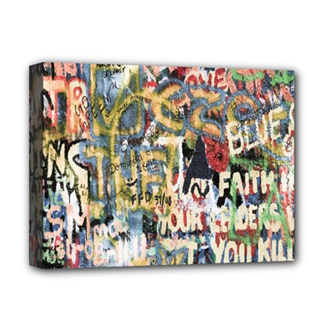 Graffiti Wall Pattern Background Deluxe Canvas 16  X 12