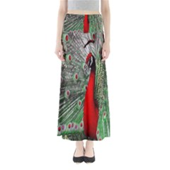 Red Peacock Maxi Skirts