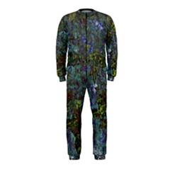 Stone Paints Texture Pattern Onepiece Jumpsuit (kids) by Simbadda