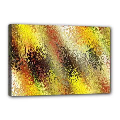 Multi Colored Seamless Abstract Background Canvas 18  X 12  by Simbadda