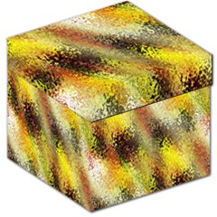 Multi Colored Seamless Abstract Background Storage Stool 12   by Simbadda