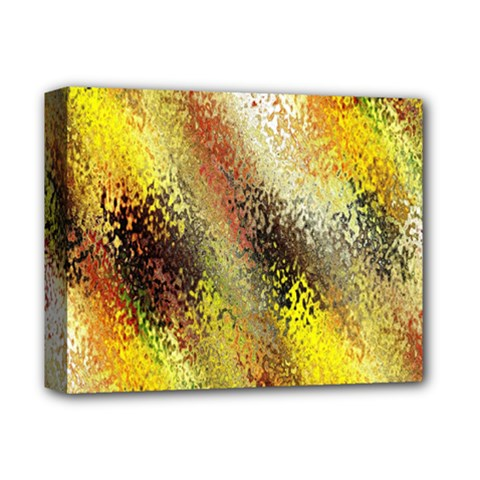 Multi Colored Seamless Abstract Background Deluxe Canvas 14  X 11  by Simbadda