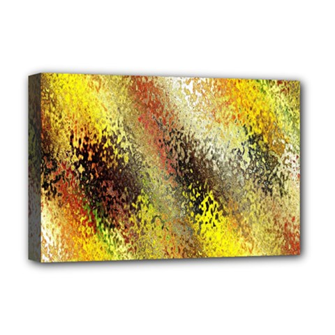 Multi Colored Seamless Abstract Background Deluxe Canvas 18  X 12   by Simbadda