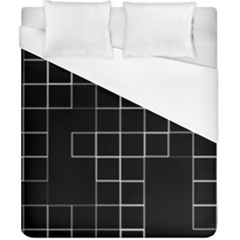 Abstract Clutter Duvet Cover (california King Size) by Simbadda