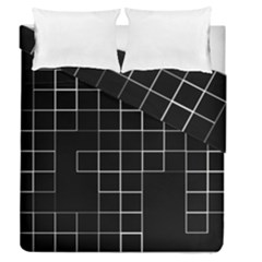 Abstract Clutter Duvet Cover Double Side (queen Size)