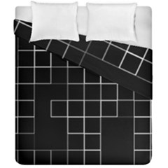 Abstract Clutter Duvet Cover Double Side (california King Size) by Simbadda