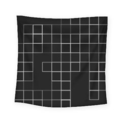 Abstract Clutter Square Tapestry (small) by Simbadda