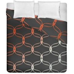 Cadenas Chinas Abstract Design Pattern Duvet Cover Double Side (california King Size)