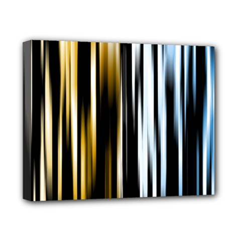 Digitally Created Striped Abstract Background Texture Canvas 10  x 8