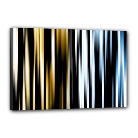 Digitally Created Striped Abstract Background Texture Canvas 18  x 12
