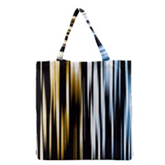 Digitally Created Striped Abstract Background Texture Grocery Tote Bag