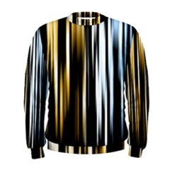 Digitally Created Striped Abstract Background Texture Men s Sweatshirt