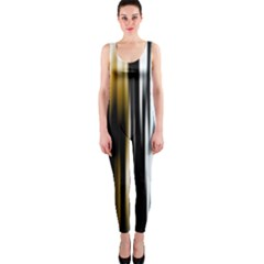 Digitally Created Striped Abstract Background Texture OnePiece Catsuit