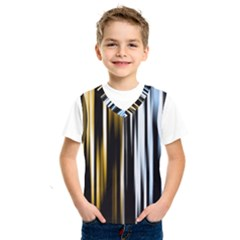 Digitally Created Striped Abstract Background Texture Kids  SportsWear