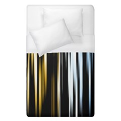 Digitally Created Striped Abstract Background Texture Duvet Cover (Single Size)
