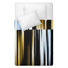 Digitally Created Striped Abstract Background Texture Duvet Cover Double Side (Single Size)