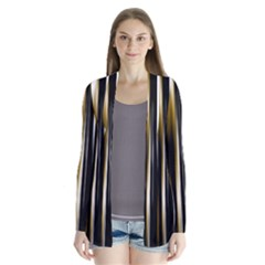 Digitally Created Striped Abstract Background Texture Cardigans