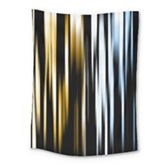 Digitally Created Striped Abstract Background Texture Medium Tapestry