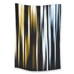 Digitally Created Striped Abstract Background Texture Large Tapestry