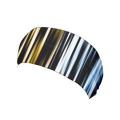 Digitally Created Striped Abstract Background Texture Yoga Headband