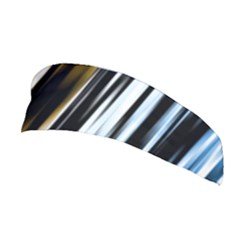 Digitally Created Striped Abstract Background Texture Stretchable Headband