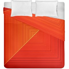 Abstract Clutter Baffled Field Duvet Cover Double Side (king Size) by Simbadda