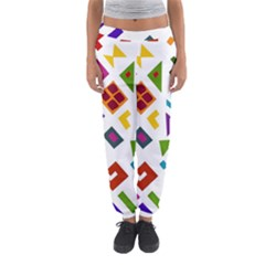 A Colorful Modern Illustration For Lovers Women s Jogger Sweatpants