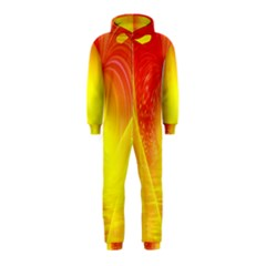 Realm Of Dreams Light Effect Abstract Background Hooded Jumpsuit (kids) by Simbadda