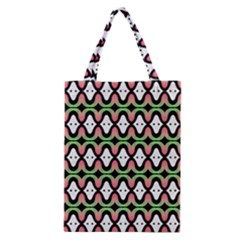 Abstract Pinocchio Journey Nose Booger Pattern Classic Tote Bag