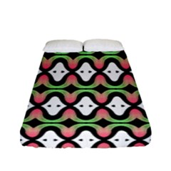 Abstract Pinocchio Journey Nose Booger Pattern Fitted Sheet (full/ Double Size) by Simbadda
