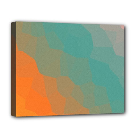 Abstract Elegant Background Pattern Deluxe Canvas 20  X 16   by Simbadda