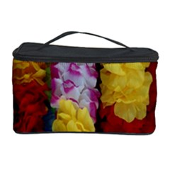 Colorful Hawaiian Lei Flowers Cosmetic Storage Case by Simbadda