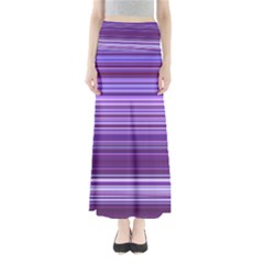 Stripe Colorful Background Maxi Skirts