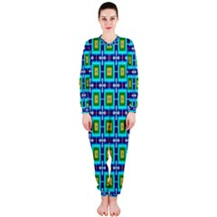 Seamless Background Wallpaper Pattern Onepiece Jumpsuit (ladies)