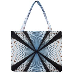 Dimension Metal Abstract Obtained Through Mirroring Mini Tote Bag by Simbadda
