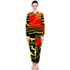 Abstract Clutter Onepiece Jumpsuit (ladies)