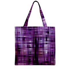 Purple Wave Abstract Background Shades Of Purple Tightly Woven Grocery Tote Bag