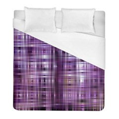 Purple Wave Abstract Background Shades Of Purple Tightly Woven Duvet Cover (full/ Double Size) by Simbadda