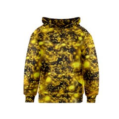 Vortex Glow Abstract Background Kids  Pullover Hoodie