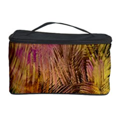 Abstract Brush Strokes In A Floral Pattern  Cosmetic Storage Case by Simbadda