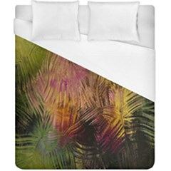 Abstract Brush Strokes In A Floral Pattern  Duvet Cover (california King Size) by Simbadda