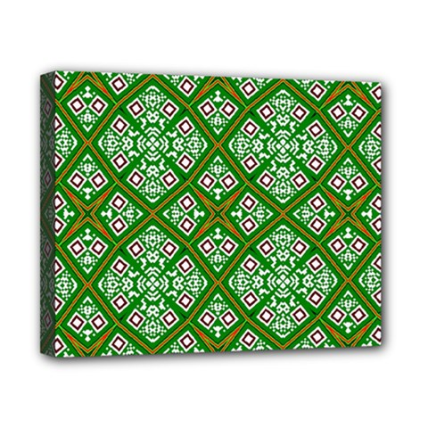 Digital Computer Graphic Seamless Geometric Ornament Canvas 10  X 8
