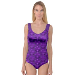 Mystic Purple Pagan Pentacle Wiccan Princess Tank Leotard  by cheekywitch
