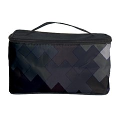 Abstract Pattern Moving Transverse Cosmetic Storage Case by Simbadda