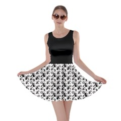 Pagan Pentacle Cat And Broomstick Wiccan Skater Dress by cheekywitch