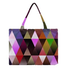 Triangles Abstract Triangle Background Pattern Medium Tote Bag