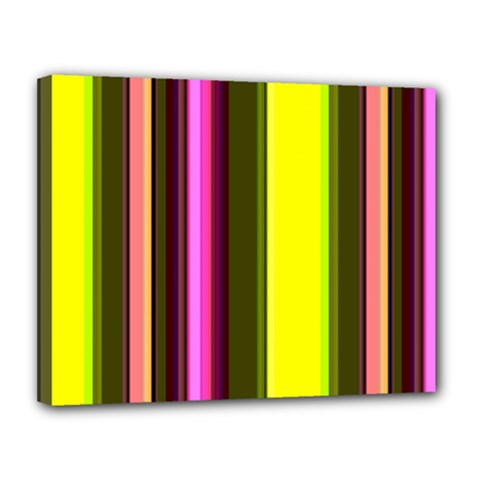 Stripes Abstract Background Pattern Canvas 14  X 11