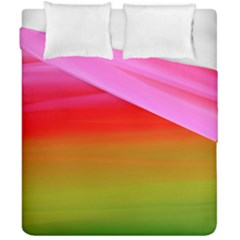 Watercolour Abstract Paint Digitally Painted Background Texture Duvet Cover Double Side (california King Size) by Simbadda