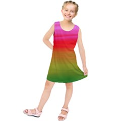 Watercolour Abstract Paint Digitally Painted Background Texture Kids  Tunic Dress